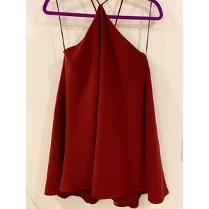 Burgundy Dress from Blush Boutique